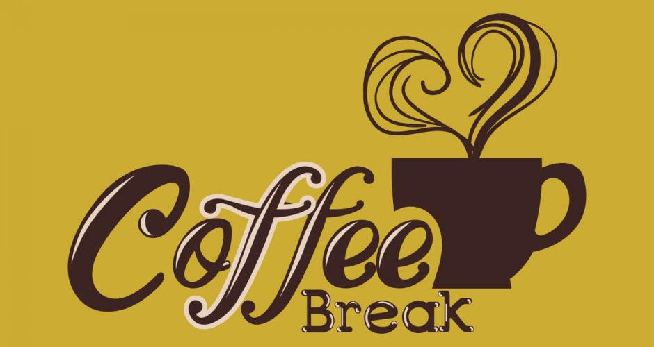 Αυτοκόλλητα καταστημάτων - Coffee break