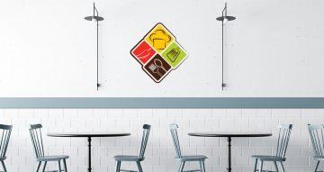 Αυτοκόλλητα καταστημάτων - Smart kitchen