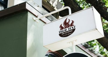 Αυτοκόλλητα καταστημάτων - Firesmoke με την δική σας φράση