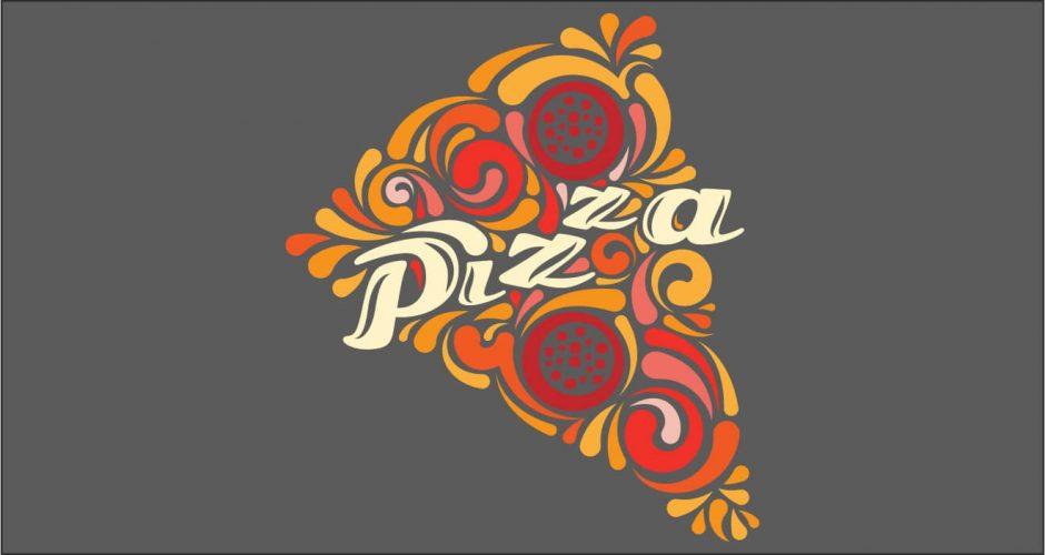 Αυτοκόλλητα καταστημάτων - Pizza time