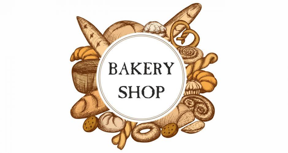 Αυτοκόλλητα καταστημάτων - Bakery shop