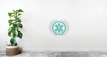 Αυτοκόλλητα καταστημάτων - Έμβλημα ιατρείων , φαρμακείων-Ράβδος του Ασκληπιού