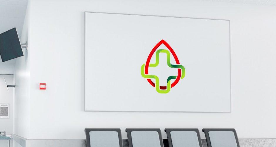 Αυτοκόλλητα καταστημάτων - Blood health