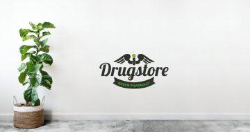 Αυτοκόλλητα καταστημάτων - Drug store