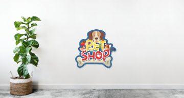 Αυτοκόλλητα καταστημάτων - Pet shop