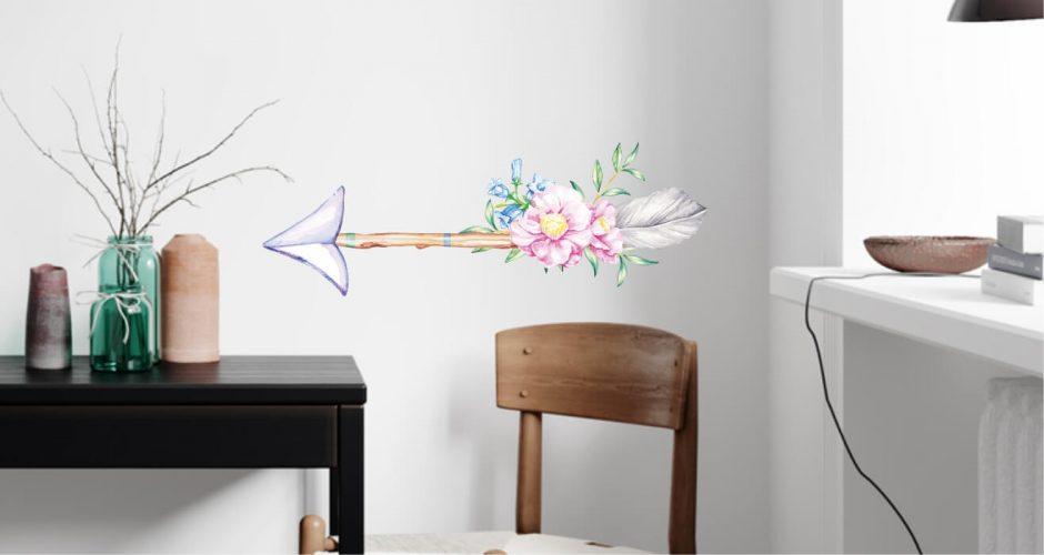 Αντικείμενα - Αυτοκόλλητο τοίχου  -  Boho arrow