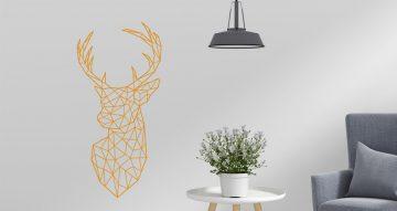 Αυτοκόλλητα Τοίχου - Αυτοκόλλητο τοίχου με ελάφι (deer)
