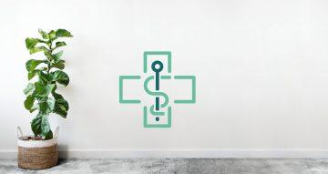 Αυτοκόλλητα καταστημάτων - Pharmaceutical cross