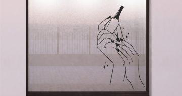 Αυτοκόλλητα καταστημάτων - Nail salon