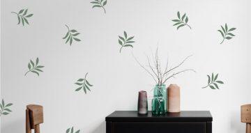 Floral - Τροπικά φύλλα
