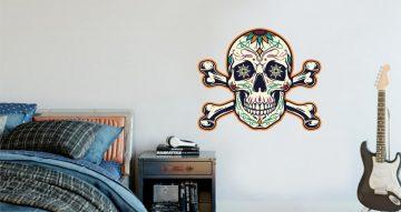 Άνθρωποι & φιγούρες - Colorful skull