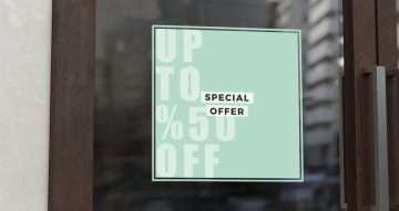 Αυτοκόλλητα καταστημάτων - Special Offer