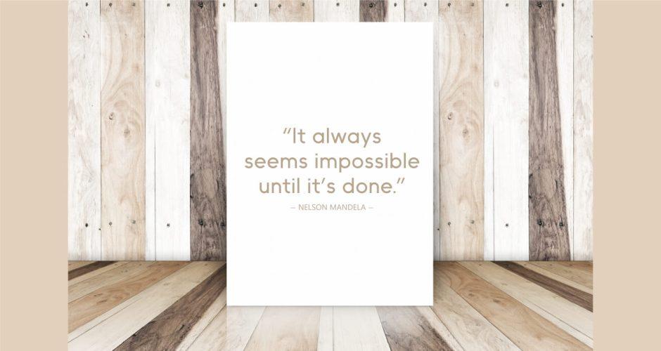 Αυτοκόλλητα καταστημάτων - Everything is possible
